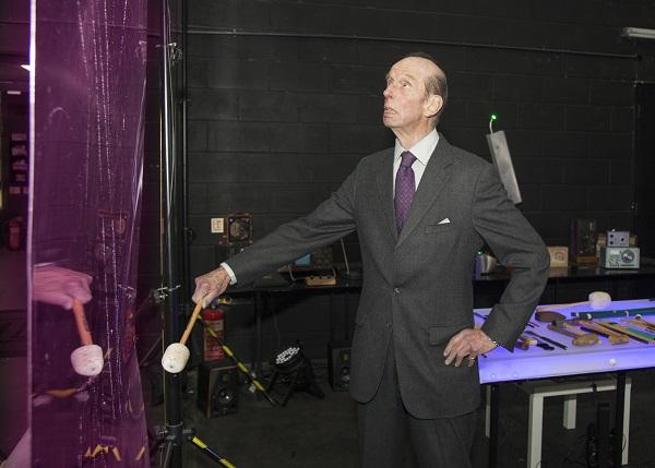 HRH visits the studios of Emmy-award winning sound specialists Radium Audio