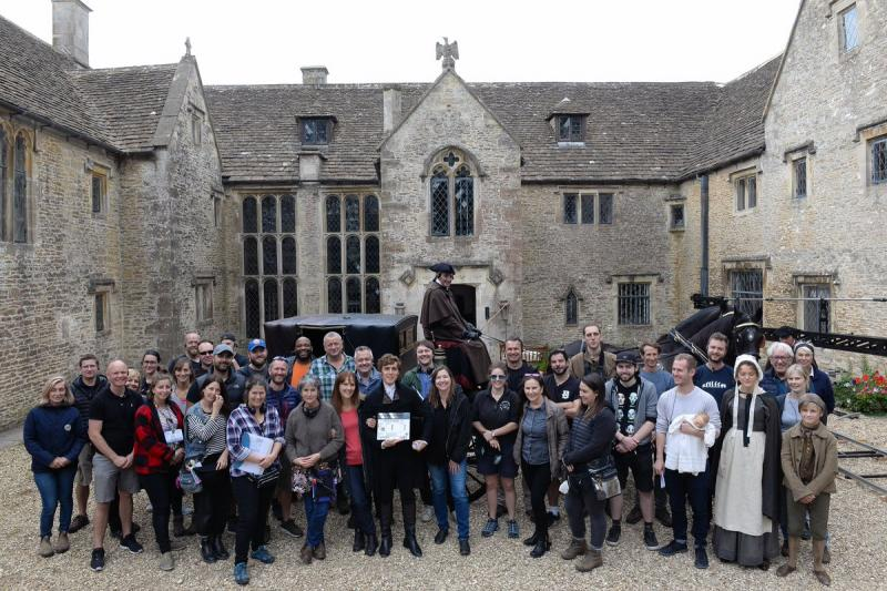 First day Poldark Series 5, Cornwall (image credit: BBC & Mammoth Screen)