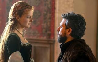 Alicia Von Rittberg & Tom Cullen in Becoming Elizabeth (Photo: Starz)