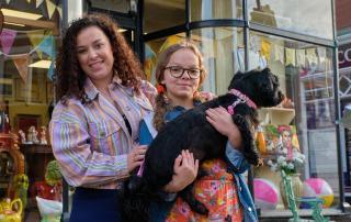 Dani Harmer & Emma Maggie Davies in My Mum Tracy Beaker (image BBC)